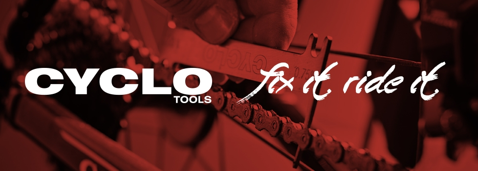 Fix it. Ride it. Ask for Cyclo tools. Workshop quality tools for both the home mechanic and the professional user - all precision engineered by Weldtite.