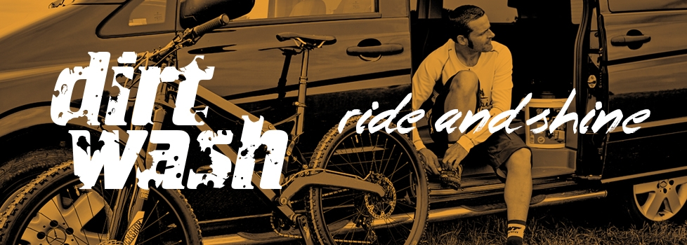 Ride and shine. Ask for Dirtwash; quick to apply, safe to use, ease to rinse - formulated to be kind to you and your bike.