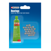 "1/4"" Ball Bearings & Grease (24 balls)"