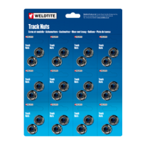 9.0mm Track Nuts (12 pairs = 1 card)