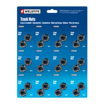 10.0mm Track Nuts (12 pairs = 1 card)